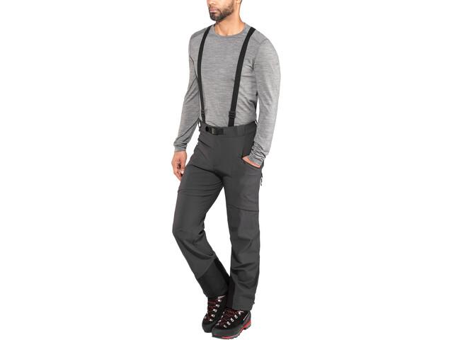 Black Diamond Dawn Patrol Pantalones Hombre, gris